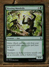 4x hooting mandrills (sedescribe Mandrille) * Khan of tarkir * Mint * Engl