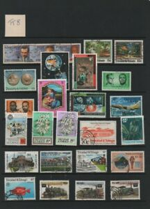 Lot TT8: Trinidad & Tobago Used Stamp Selection: See Scan