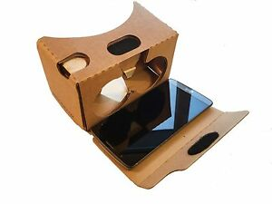 High Quality Google Cardboard - Virtual Reality VR headset - Mailed from the UK