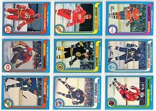 79/80 OPC SET #2 NINE CARDS SOME ARE MINT, FEW WORN GRETZKYS ROOKIE YEAR - 9 LOT