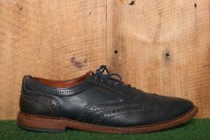 ALLEN EDMONDS 'Neumok 2.0' Blue Leather Wingtip Dress Shoes Men's Sz. 12D