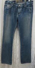 DIVISION E JEANS Flap Pocket Top Stitched Boot Cut 36 x 34.5 NEW 75411558