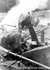 Oil Rig Workers, Seminole Oil Field, Oklahoma - 1939 - Historic Photo Print