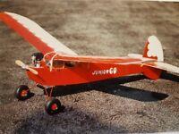 Ben Buckle Junior 60 glow/diesel  plans set r/c balsa built up model