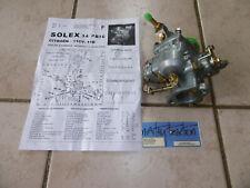 Carburateur 34PBIC SOLEX TRACTION CITROËN