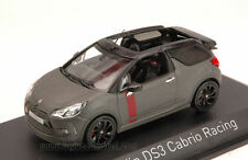 Citroen DS3 Cabrio Racing 2014 Gun Grey 1:43 Model 155295 NOREV