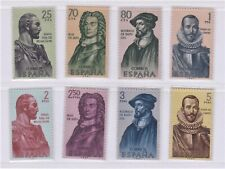 Spain Stamps 1962 Builders of the New World, Complete set, Mint Never Hinged
