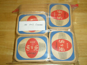 Vintage 140 F & S Advertising Pilsener Beer Coasters Shamokin PA Oblong