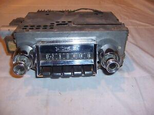 1957 Chevy Car Accessory Push Button Radio Original GM