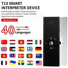 2019 T13 Enence Sofortiger Echtzeit-Sprachübersetzer für mehr als 40 Sprac