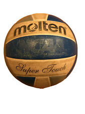 Molten - Super Touch NFHSA Approved Volleyball - OFFICIAL NCAA- Royal/Silver