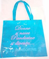 LE PANDORINE shopper blue ORIGINALE nuova  RP € 80 super prezzo ......