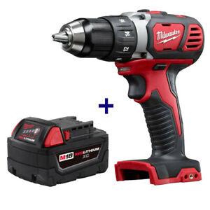 New Milwaukee 2606-20 M18 18V Drill Driver 48-11-1840 M18 XC 4.0 Battery