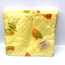 """New listing Vintage Lady Pepperell 100% Polyester Stitched Ends 66"""" X 90"""" Made in the Usa"""