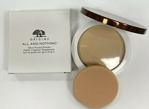 Origins All And Nothing Sheer Pressed Powder 10g *NEW IN BOX*
