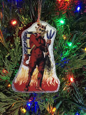 Krampus Devil Handmade Wooden Ornament