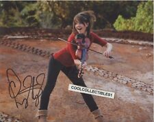 """LINDSEY STERLING (DANCING WITH THE STARS SEASON 25) SIGNED 8X10 PHOTO 3 """"PROOF"""""""