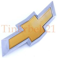 18 19 Chevrolet Equinox Front Grille Logo Emblem Gold Bowtie Bumper Badge OEM