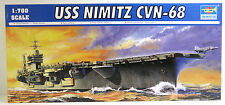 Portaerei Nimitz cvn-68, prima 1980,us Navy, carrier, Trumpeter, 05714, 1:700,neu