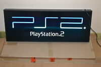 PLAYSTATION 2 / PS2 * SHOP DISPLAY * LIGHT SIGN * 95 CM & 30 CM * BRAND NEW *