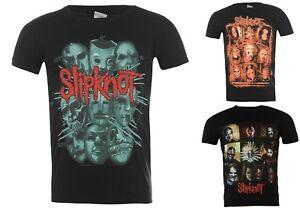 Officil New  Slipknot T Shirt Gray Chapter masks band logo tour S- M -L -XL