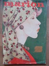 MARION Februar 2 - 1974 Mode-Journal + Schnittmuster
