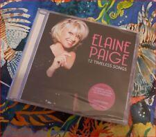 """Elaine Paige New Mar'18 FREEPOST """"Timeless Songs"""" CD*Memory/Alfie +Sedaka Duet"""