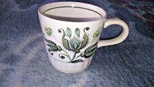 PALISSY HEIDI TEA CUP GREEN /WHITE 7CM TALL