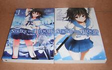 Strike the Blood Vol.1,2 Novels Set English
