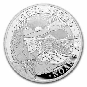 2021 1 oz .999 Fine Silver Armenia 500 Drams Noah's Ark Coin Beautiful Unc. N/R