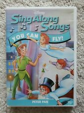 Disneys Sing Along Songs - Peter Pan: You Can Fly (DVD, 2006)