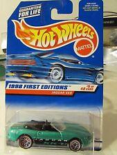 Hot Wheels Jaguar XK8 1998 First editions Green