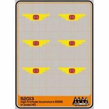 M52013 Max Model H0 Decal FS Logo FS E656 1975 a televisore rosso con ali gialle