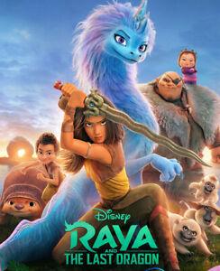 Raya and The Last Dragon (DVD) BRAND NEW & SEALED DVD  Region 1 (USA)
