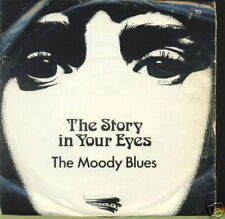 THE MOODY BLUES 45 TOURS BELGE THE STORY IN YOUR EYES