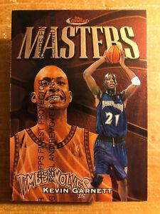 KEVIN GARNETT 1997-98 TOPPS FINEST Masters Common #246 / original COAT