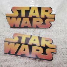2 X 45 mm Corte Láser de Star Wars Piso Nuevo Resina Diademas cabello arcos elaboración de tarjetas