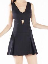 New with defect $338 BCBG Max Azria Harlie Cutout Cross Bodice B1649 Dress Sz 2