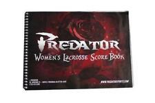 Predator Sports Official Womens Lacrosse Score Sheet Scorebook