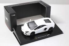 1:43 Elite Lamborghini Aventador White New chez Premium-modelcars
