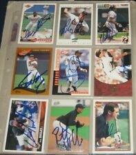 15 Baltimore Orioles SIGNED Autographed Baseball Cards HOILES MCDONALD MELVIN ++