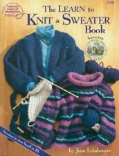 The Learn to Knit a Sweater Book (#1258) by Jean Leinhauser