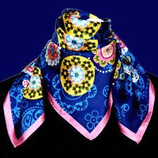 Mehrfarbige Damen-Schals aus 100% Seide