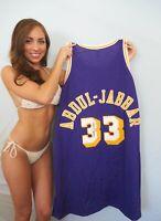Kareem Abdul-Jabbar signed autographed 1979-80 LA Lakers Mitchell & Ness jersey