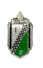 Checker Cab Radiator Emblem Badge