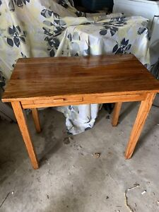 Antique Style French Wood Desk