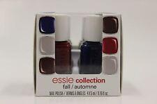 Essie Fall Collection Mini Kit 4pc x 5ml / .16 fl. oz. - NEW
