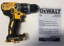 "NEW DEWALT DCD796 20V 20 Volt MAX XR Brushless 1/2"" Hammer Drill / Drill Driver"
