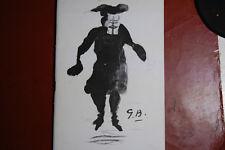 Dedicacé: Programme  du théatre Athénée, 1950, le tatuffe de Molière,