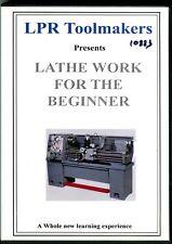 Lathe Work for the Beginner from LPR Toolmakers (DVD)